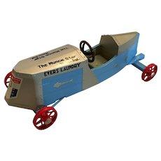 Nyline Diecast Model of the Winning 1934 Soap Box Derby car