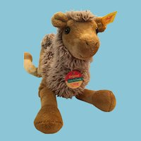 Steiff 110412 Cosy Friends Plush Camel with a Steiff Ear Button and Tags