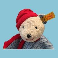 Steiff Model: 236129 Polar Bear Baby Comforter