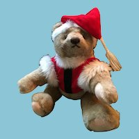 'Gotta Get a Gund' 1982 Fully Jointed Santa Bear