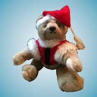 'Gotta Get a Gund' 1982 Fully Jointed Santa Bear