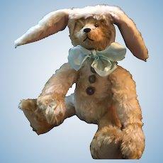 Vintage Artist-Made OOAK Honey Bunny Bear