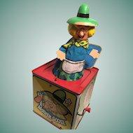 Marvelous Mattel Musical Mother Goose 'Jack-in-a-Box'