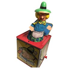 Marvelous Mattel Musical Mother Goose 'Jack-in-a-Box'