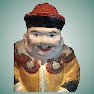 1930's Mandarin Gentleman Bobble Head