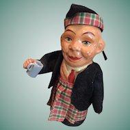 Circa 1940s Beer Drinking Scottish Soldier Squeaker