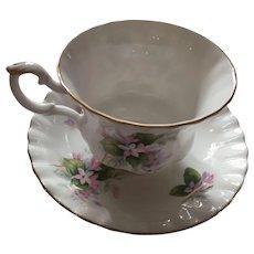 Tea for Two or High Tea - 1970s Royal Albert Mayflower Tea Cup and Saucer