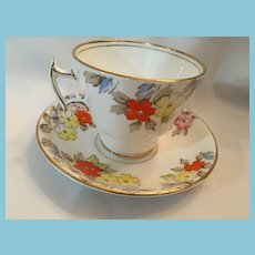 1940s 'Phoenix Bone China' Tea Cup and Saucer