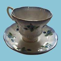 1970s Royal Albert 'Horizon' Bone China Tea Cup and Saucer