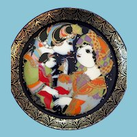Stunning Collection of Twelve Rosenthal Aladdin Plates by Bjorn Wiinblad