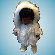 Vintage 1960s Regal Inuit Kimmie Doll in Parka