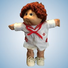 Delightful Frizzie Red Haired Sailor Cabbage Patch Kid