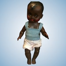 Circa 1960s Pullan Co African American Boy Doll