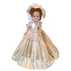"""Vintage 11"""" Pam Hard Plastic Doll by Fortune Dolls"""