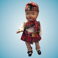 Circa 1939 Reliable Canada All Original Scottish Laddie