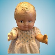 """Circa 1925s Rosie O'Neill Composition 11"""" Scootles Doll"""