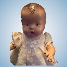 """Sweet Circa 1930s Fully Jointed 12"""" Composition Patsy Jr"""