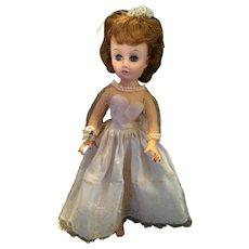 Beautiful Circa 1940s-50s Hard Plastic Bride Doll