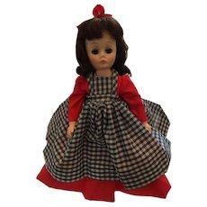 "1976 ""Jo"" 12 Inch Hard Plastic Doll in the Madame Alexander Little Women Series"