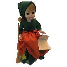 """Circa 1960's Poor Cinderella 14"""" Hard Plastic Doll by Madame Alexander"""