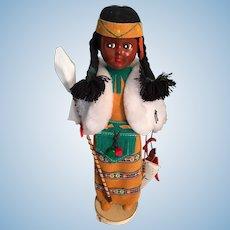 1987 'Original Indian Art' Hard Plastic Doll