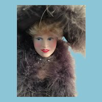 1982 Effanbee Mae West Doll in the Legend Series