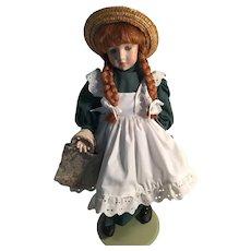 """Artist-Created 20"""" Anne of Green Gables Full Porcelain Doll"""