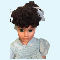 """1961 Reliable 30"""" Walking Doll with a Hand-Smocked Dress"""