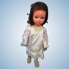 "Circa 1960s Vinyl and Hard Plastic 24"" Chubby Child Doll"