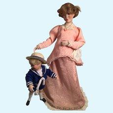 1992 Sandra Kuck's Expectant Moments Doll Set