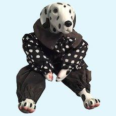 1993 Artist-made OOAK Dalmation Dog Doll.