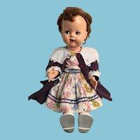 "1951 Original Ideal 22"" Saucy Walker Doll with Flirty Eyes"