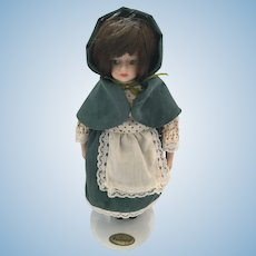 8 inch doll from 'Ireland ' by 'Porcelain Dolls of the World