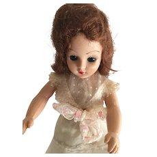 "Circa 1948 Hard Plastic 7"" Marked Duchess Fashion Doll"