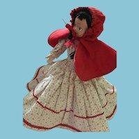 1960s Red Riding Hood and Grandma Topsy Turvy Doll