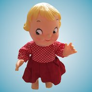 """10"""" Campbell Soup Wide-Eyed Girl Doll"""