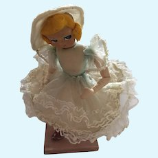 Big-eyed Poseable Cloth Boudoir Doll