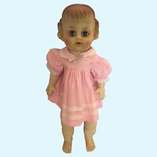 "Circa 1950s Eegee 16"" Soft Rubber Doll"