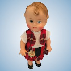 "Mint-in-Bag Reliable 10"" Highland Laddie Doll"
