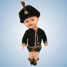 1950s Roddy Scottish Boy Walking Doll