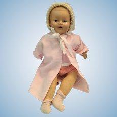 """Circa 1930s 14"""" Vanta Baby Girl by Amberg"""