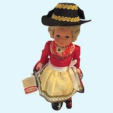 """Vintage 10"""" Original Schmider Tracten Fronnzl 104 Salzburg Doll"""