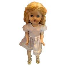 "circa 1950 Reliable Susie Stepps  20"" Hard Plastic Walking Doll"