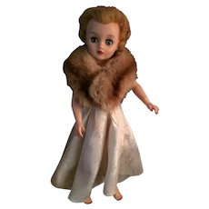 "circa 1950s Dee an Cee 17"" Nanette Hard Plastic High Heel Fashion Doll"