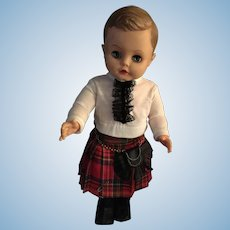"1962 Reliable 16"" Peter 'Scottish Laddie' Doll"