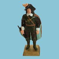 1980s Lipton Tea Company Figurine of Samuel de Champlain