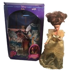 1992 Mattel Disney Classic Belle Princess of Beauty and the Beast.