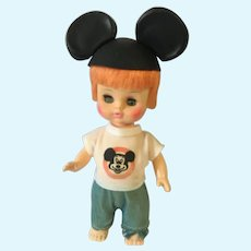 Ginger-Haired 1971 Mouseketeer Doll by 'Horsman'