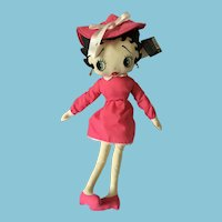 "1999 ""Mary Poppins"" Betty Boop 20"" Stuffed Cotton Doll"