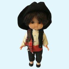 1950-1960s Re de Avila Soft Vinyl Gaucho Boy Doll